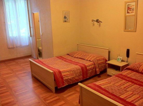 Hotel Le Terminus d'Albi :                   Notre chambre (il me semble que c'était la numéro 9)