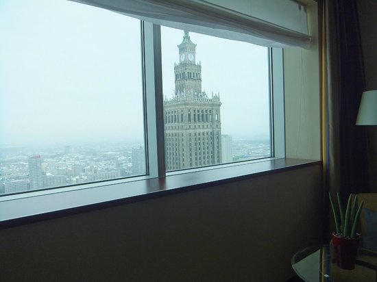 InterContinental Hotel Warsaw: Fantastic view
