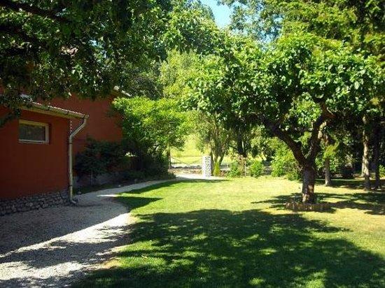 Diofahaz Vendeghaz:                   Tuin rondom Diofahaz