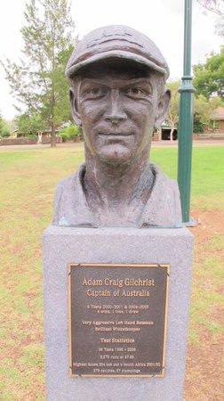 Cricket Captains Walk: Adam Craig Gilchrist
