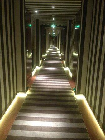 Le Royal Monceau-Raffles Paris:                   Corridor to rooms