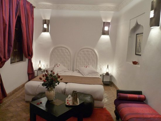 Riad Anya: chambre Sahara