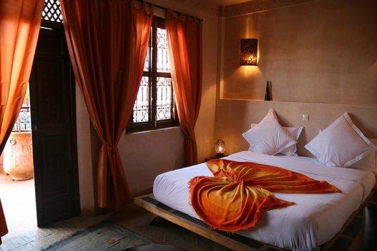 Riad Anya: chambre Mamounia sur la terrasse