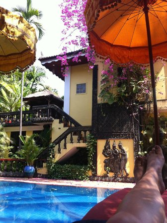 Bopha Siem Reap Boutique Hotel:                   hotel view