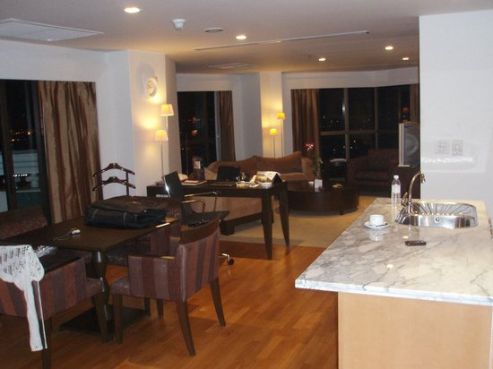 lebua at State Tower: Suite 2 Rooms