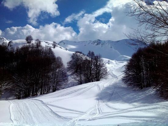 Picinisco, Italy:                   Prato di Mezzo 11 February 2013