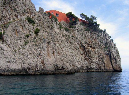 Capri.- la Villa Malaparte