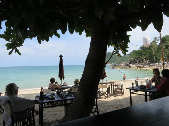 บุริ รสา เกาะพะงัน:                   Vue restaurant