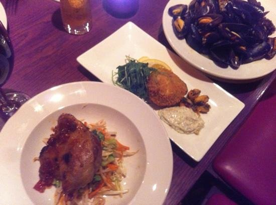 The Grill Room :                   delicious !!!