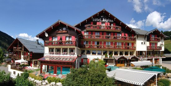 Chalet-Hotel Alpina: Hôtel