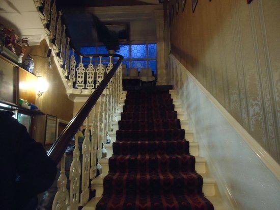 Saint Simeon:                   Hotel, scala principale dell'ingresso