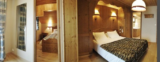 Chalet-Hotel Alpina: Chambre