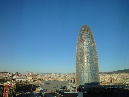 Novotel Barcelona City:                   room view