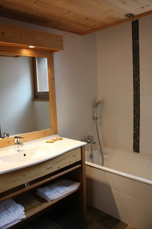 Chalet-Hotel Alpina: Alpina lodge - Salle de bain