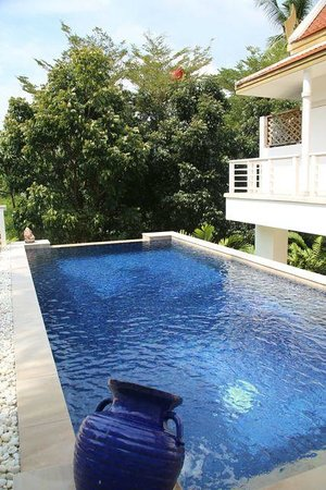 Katamanda - Luxury Phuket Villas:                   View from Living room