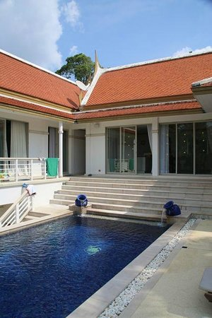 Katamanda - Luxury Phuket Villas:                   Swimming pool view