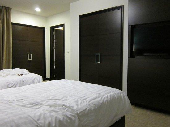 Ascott Kuala Lumpur : Room with twin beds