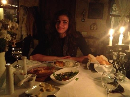 Meleklerevi Cave Hotel:                   aksam yemegi