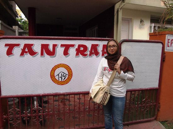 Tantraa Home Stay:                                     Front of Tantra