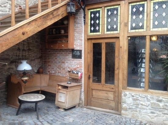 Fronius Residence:                   The courtyard