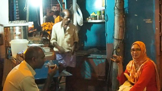 Tantraa Home Stay :                                     Navas bring us up and down day and night for food and drinks