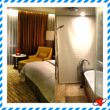 Manila Marriott Hotel: The room