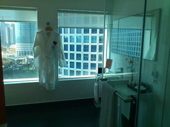 Crowne Plaza Tel Aviv City Center:                   shower