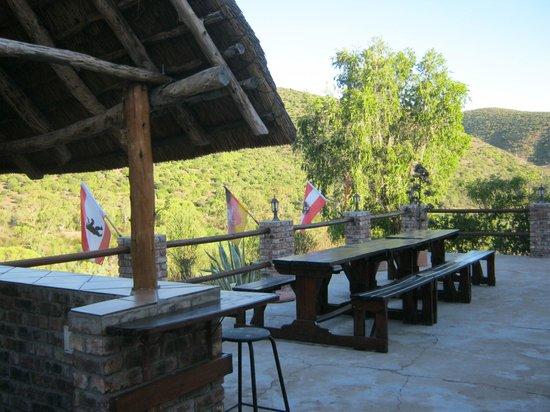 Carmens Guest House and Ostrich Farm: Braai fürs Abendessen
