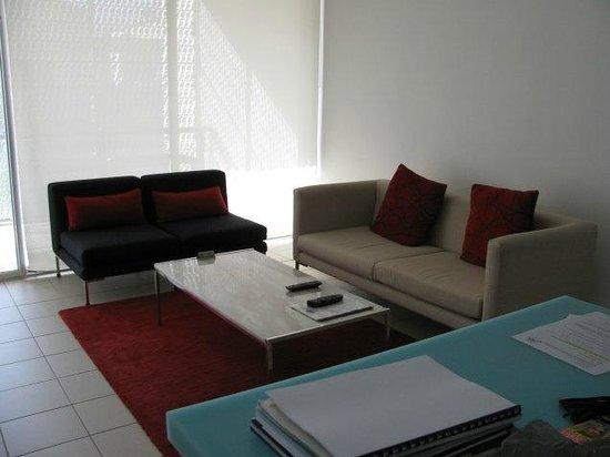 The Miro Apartments: Living area