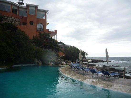 Hotel Punta Rossa:                   Бассейн.