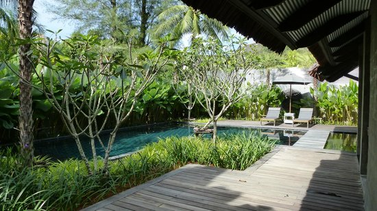 The Slate:                   Privat Pool Villa