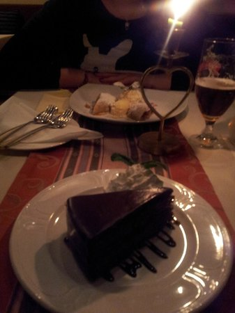 Restaurant Monarchie:                   Dessert