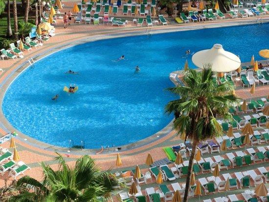 Hotel Eugenia Victoria: vue de la chambre