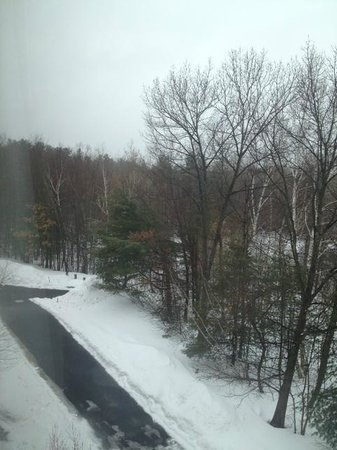 SpringHill Suites Boston Andover:                   Winter wonderland