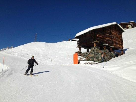 Stoked Swiss Ski and Snowboard School:                   Iain............