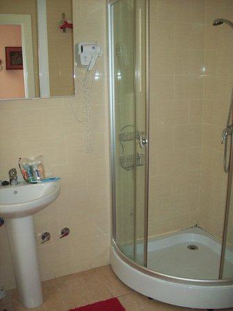 Hostal Pizarro:                   Bathroom