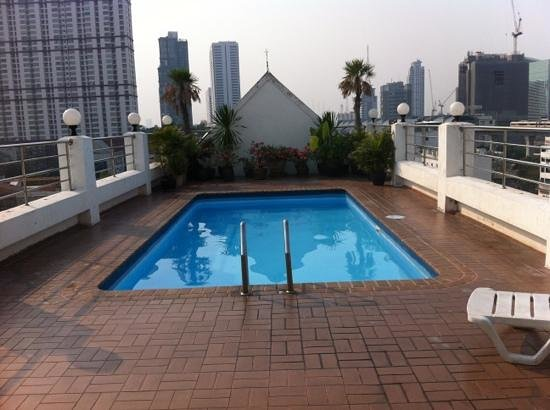 White Palace Bangkok:                   het zwembadje