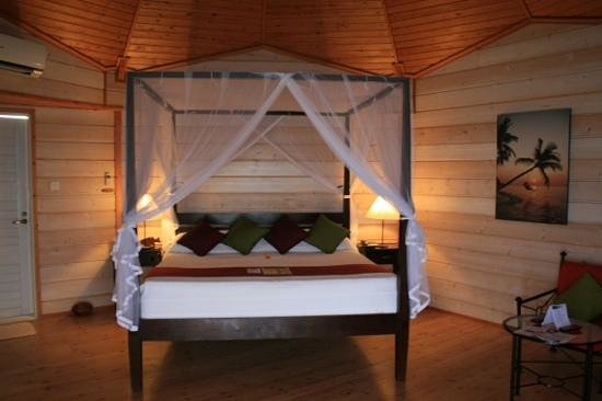 Kuredu Island Resort & Spa:                                                       Water villa room