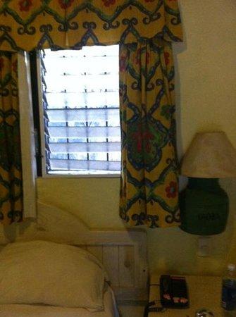 Hotel Kaoba:                                     los critalitos de la ventana no cierran y las cortinas y la