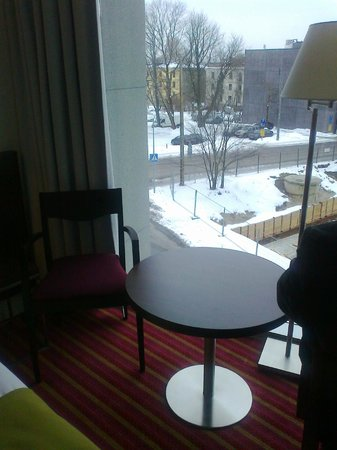 Park Inn by Radisson Meriton Conference & Spa Hotel Tallinn: view from room