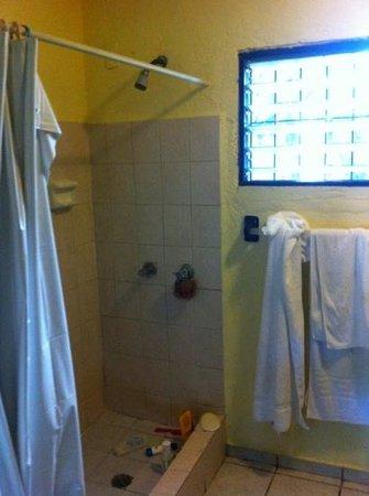 Hotel Kaoba:                                     ducha
