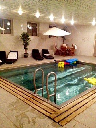 Blommenhof Hotell:                   hotellets pool. djup och härlig.