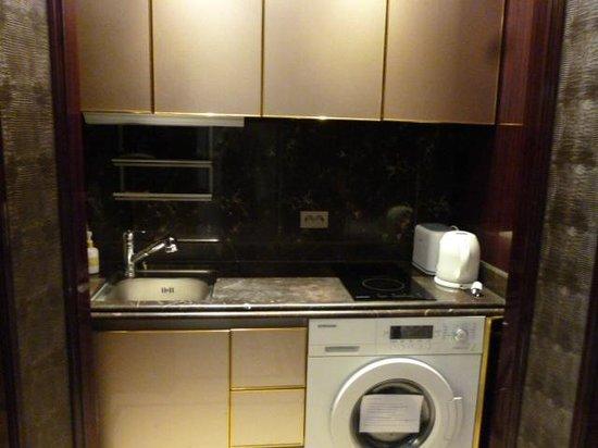 Hotel Artnouveau Seocho:                   キッチン