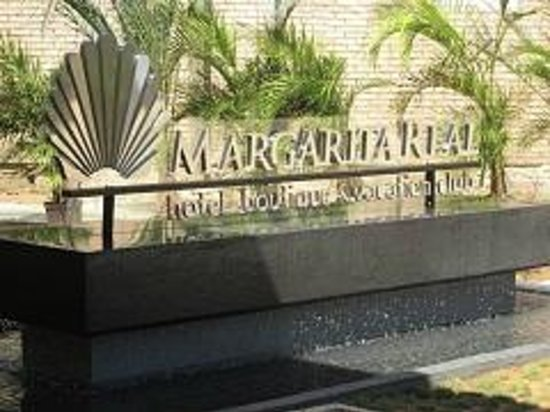 Margarita Real Boutique Hotel: Isla Margarita hotel entrance