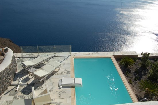 Csky Hotel:                                                       one of the private pools
