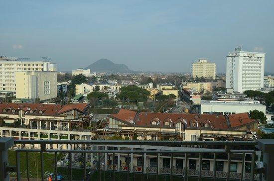 Hotel All'Alba: Vista sala panoramica colazione