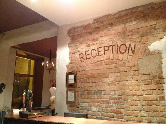 Hotel Justus: Reception