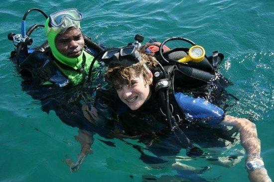 Princesse Bora Lodge & Spa:                   Introductory dive off the shore
