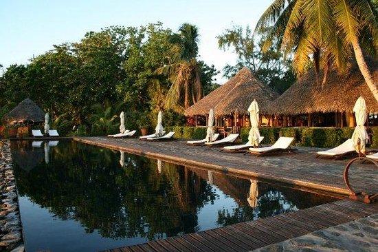 Princesse Bora Lodge & Spa:                   Sunset in paradise