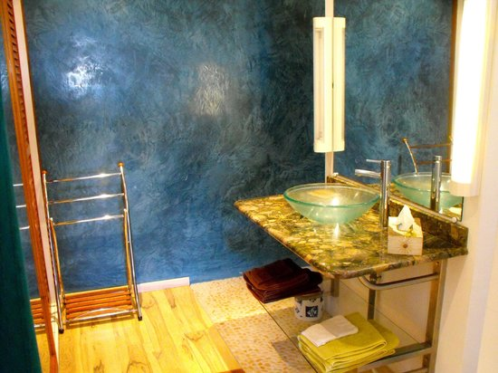 Le Cap Malo: salle de bain